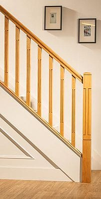 George Quinn Stair Parts Plus - Contemporary Collections : Lisbon Staircase Range