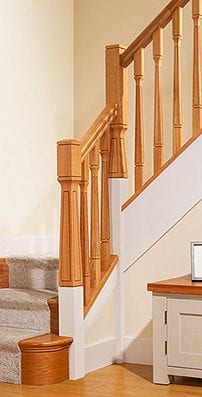 George Quinn Stair Parts Plus - Contemporary Collections : Paris Staircase Range