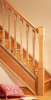 George Quinn Stair Parts Plus - Contemporary Collections : Vienna Staircase Range