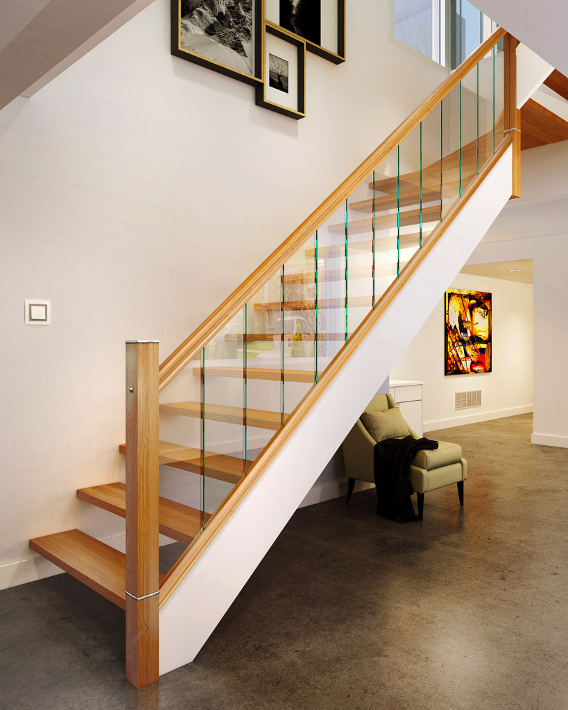 Square Plain Newel Post Blank George Quinn Stair Parts Plus