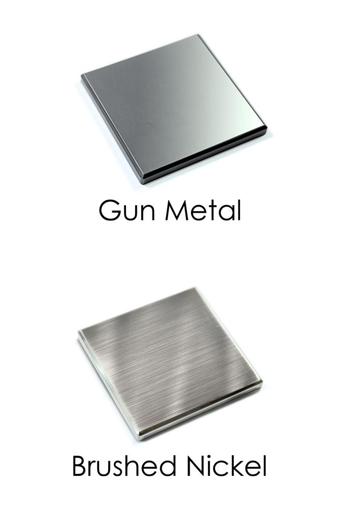 Metal-Newel-Caps-Gun-Brushed-Nickel-George-Quinn-Stair-Parts-Urbana