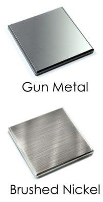 Newel Caps - Gun Metal and Brushed Nickel Material - George Quinn Stair Parts - Urbana