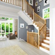 Stair-Parts-Stop-Chamfered-Spindles-Boyne-Oak-Stairs-George-Quinn-Stair-Parts-Plus