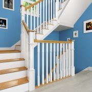 Stair-Parts-Stop-Chamfered-Spindles-Boyne-Painted-Oak-Box-Newel-Stairs-George-Quinn-Stair-Parts-Plus