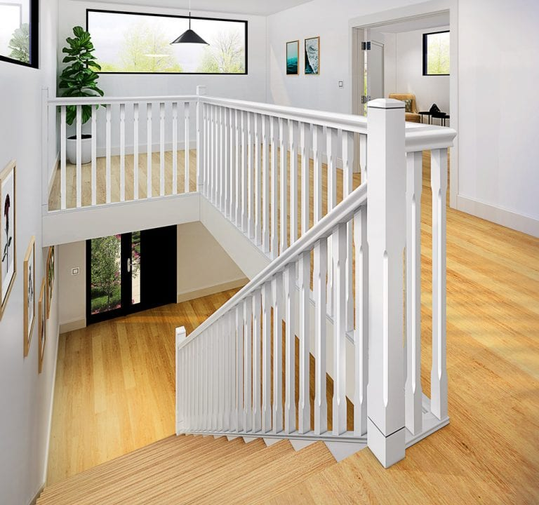 Stop Chamfered Stair Parts - Boyne - George Quinn Stair Parts Plus