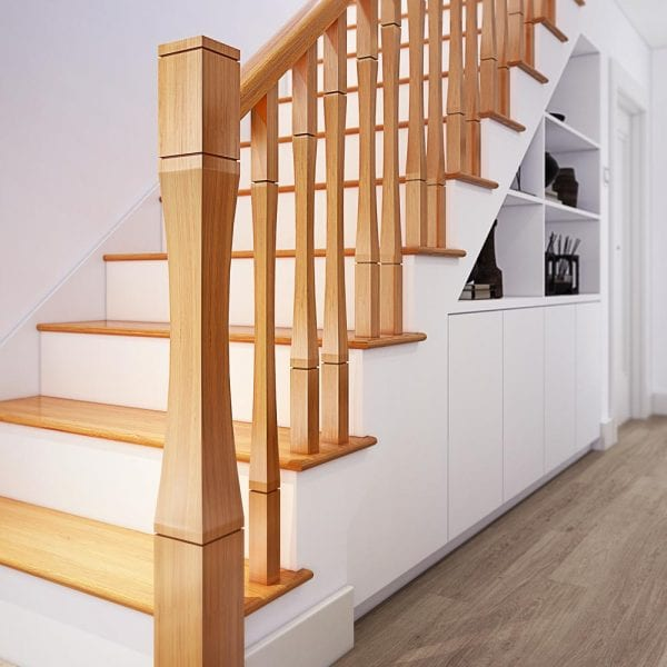 Curved Stair Parts - Vienna - George Quinn Stair Parts Plus