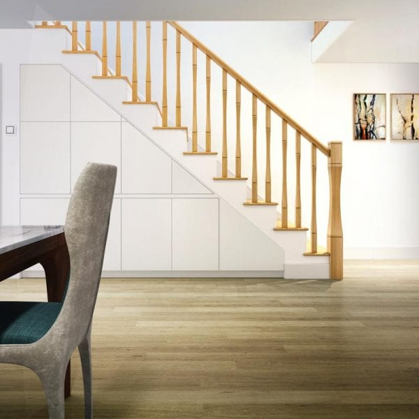 Curved Stair Parts Room View- Vienna - George Quinn Stair Parts Plus