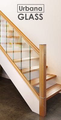 Glass Staircase Parts - Urbana - George Quinn Stair Parts Plus