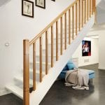 Modern Stair Parts - Lisbon Newel Post - George Quinn Stair Parts Plus
