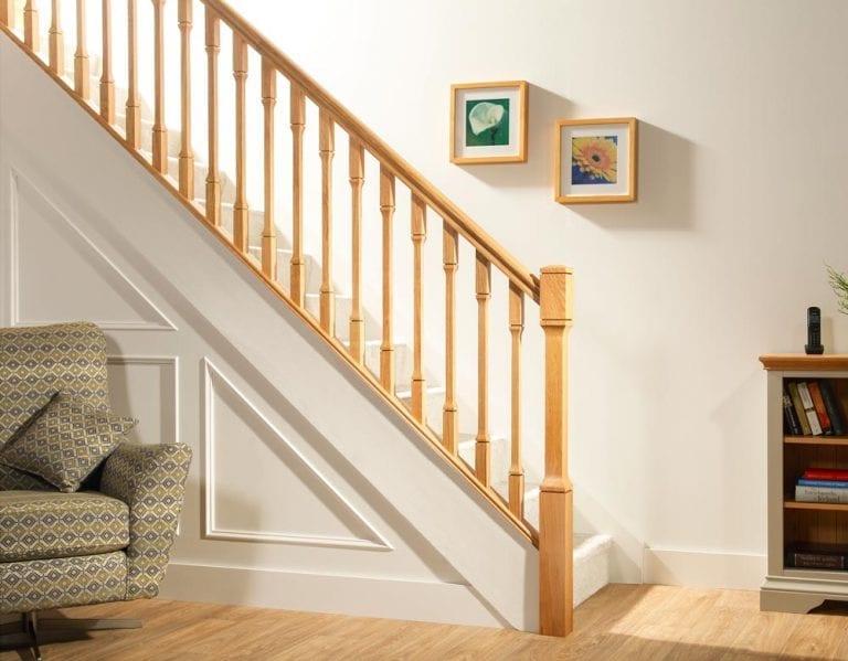 Minimal Stair Parts - Dublin Room View - George Quinn Stair Parts Plus