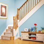 Modern Classic Stair Parts - Paris Newel Spindles Room Scene- George Quinn Stair Parts Plus
