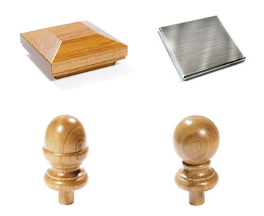 Newel Post Caps for Stairs - George Quinn Stair Parts