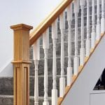 Box Newel and Achill spindles