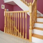 Oak Traditional Stair Parts - Achill Staircase