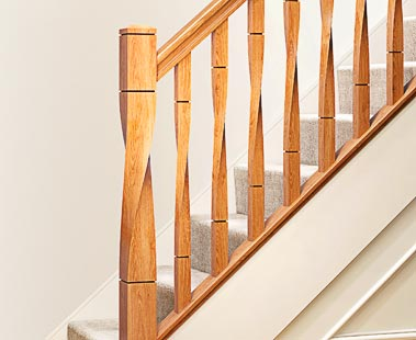 Twist Stair Parts