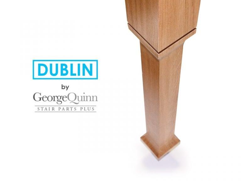 Minimal Stair Parts Dublin Newel Post George Quinn Stair Parts Plus