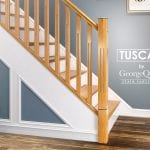 Modern Stair Parts Tuscan Closeup-George Quinn Stair Parts Plus