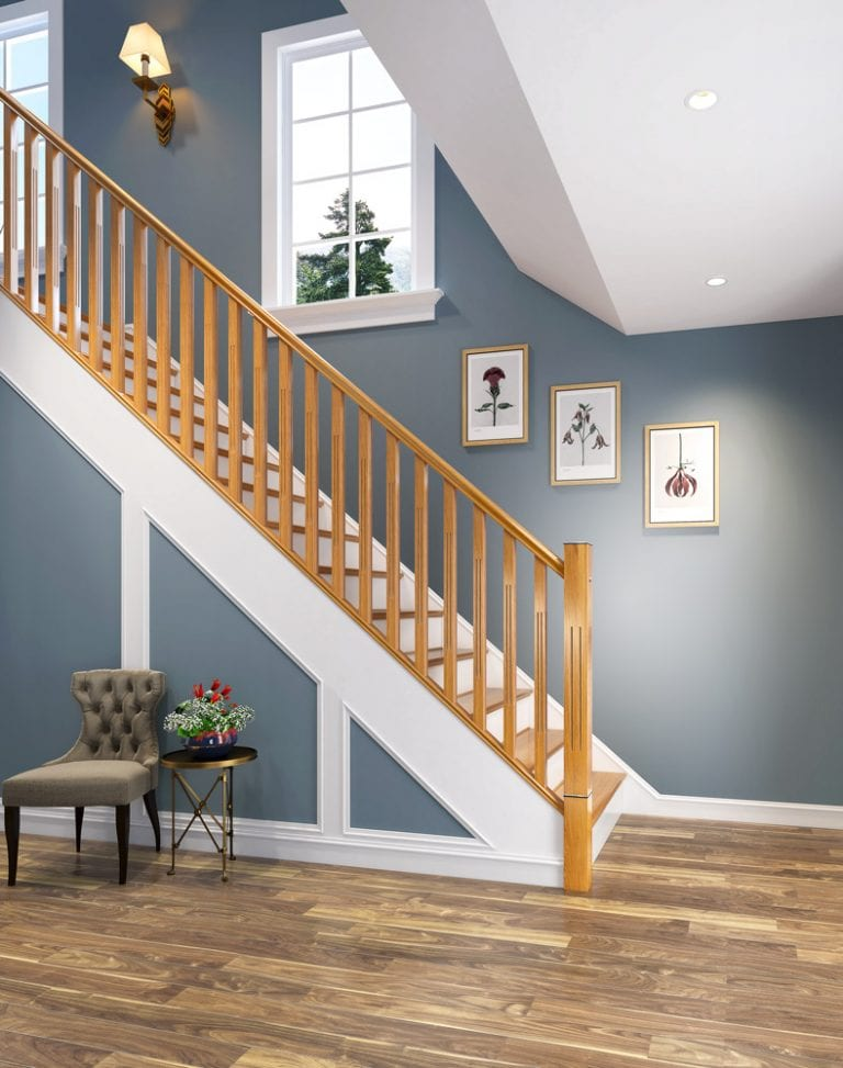 Modern Stair Parts Tuscan -George Quinn Stair Parts Plus
