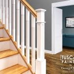 Modern Stair Parts Tuscan Painted -George Quinn Stair Parts Plus
