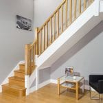 Square Stair Parts Scene-George Quinn Stair Parts Plus