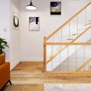 Glass-Stairs-with-Oak-George-Quinn-Stair-Parts-Urbana-6