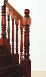 Ashford stair parts collection - 118 mm newel posts and 56 mm spindles