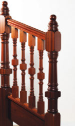 Clontarf stair parts collection - 118 mm newel posts and 56 mm stair spindles