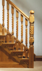 Kilkenny stair parts collection - 118 mm newel posts and 56 mm stair spindles
