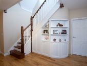 Under stairs storage solution - multi-purpose space - George Quinn Stair Parts Plus