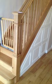 Under stairs storage solution - space saving - George Quinn Stair Parts Plus